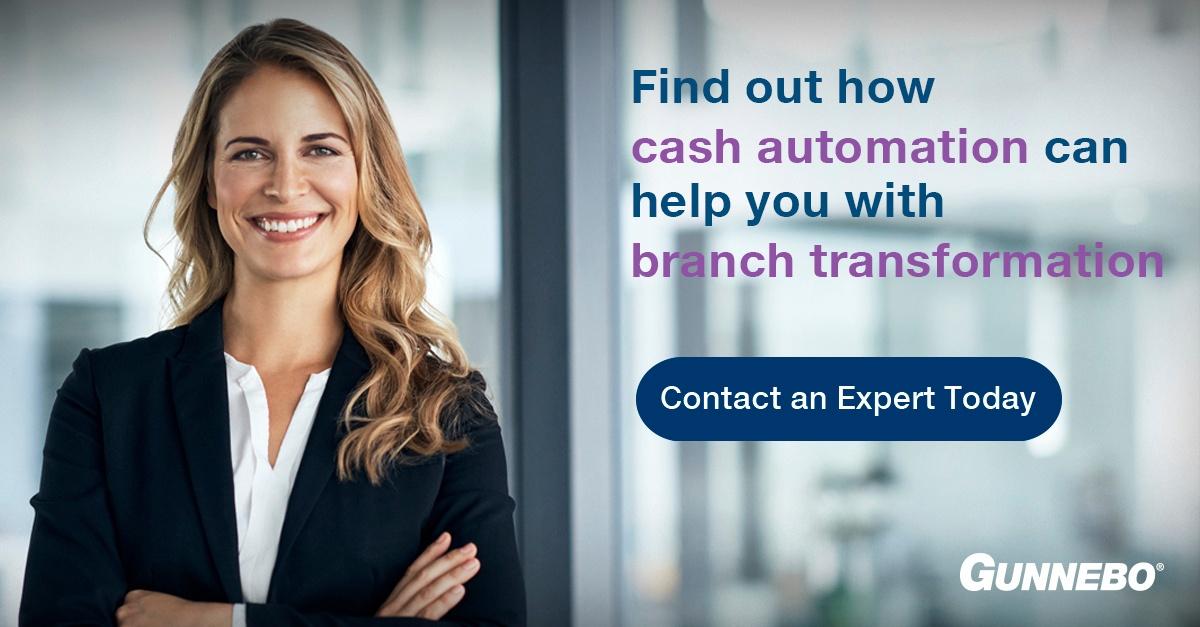 bank transformation cash automation