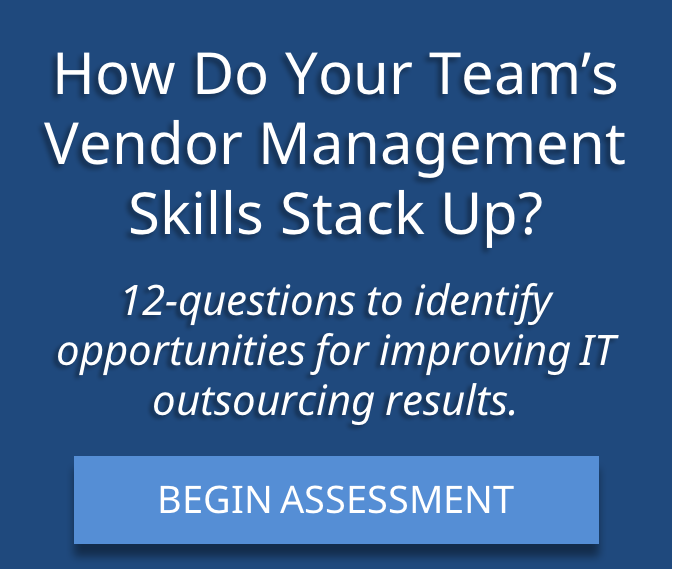 Vendor Management Assessment