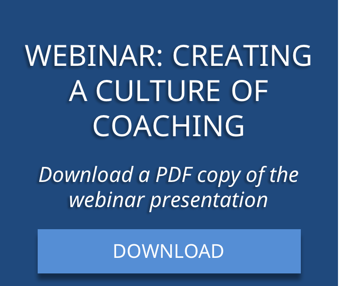 Download Culture of Coaching Webinar