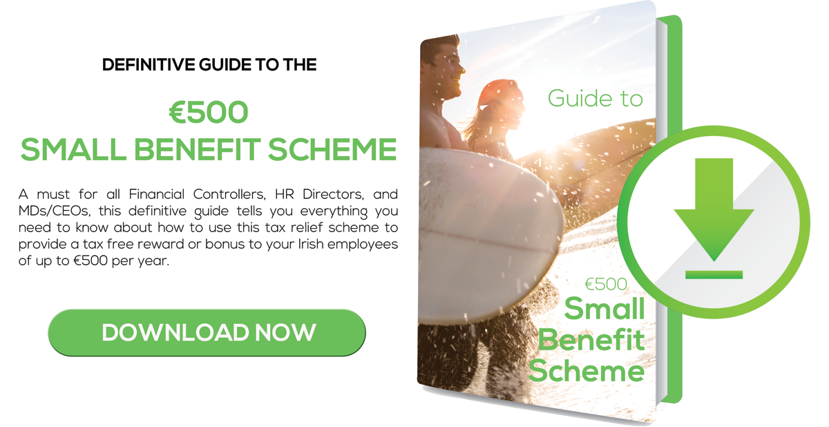 Download €500 Small Benefit Scheme Guide