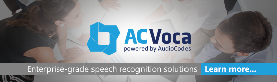 AC Voca - Enterprise-grade speech recognition solutions