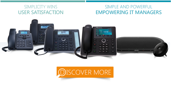 AudioCodes IP Phones for Skype for Business: Simplicity Wins' User Satisfaction