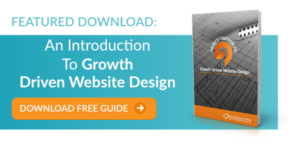 Download our free guide: An introduction to growth driven website design