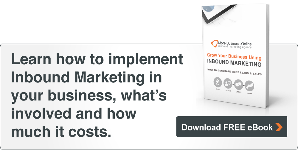 Download our free eBook: Grow Your Business Using Inbound Marketing