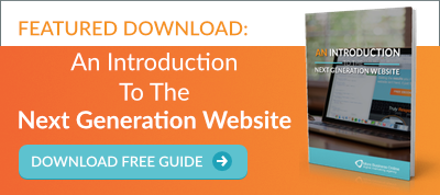 Download our free guide: An introduction to the next generation website