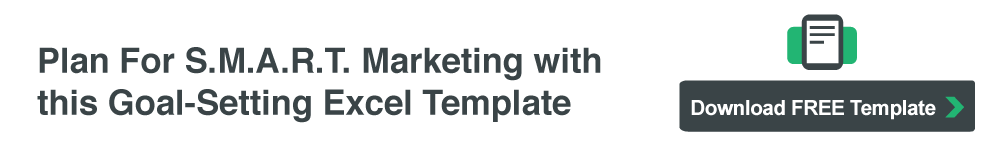 Download your Template: Plan For SMART Marketing Goals
