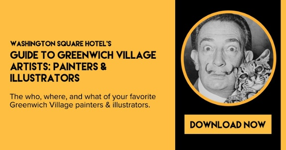 WSH's Guide to Greenwich Village Artists: Painters & Illustrators -- download the free ebook now!