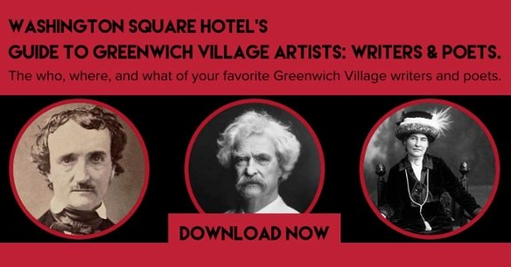 WSH's Guide to Greenwich Village Artists: Writers & Poets -- Download the free ebook now!