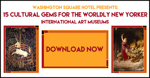 15 International Art Museums in NYC -- download your free ebook now!