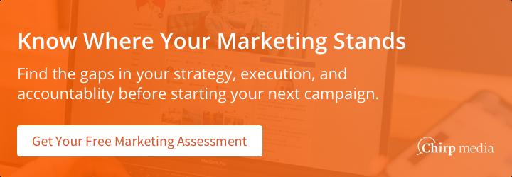 Get a free marketing assessment