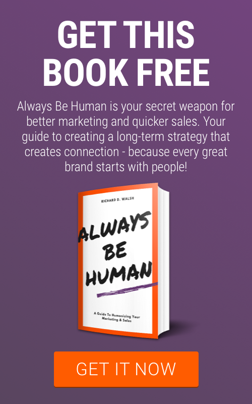 Get this free book - Always be Human