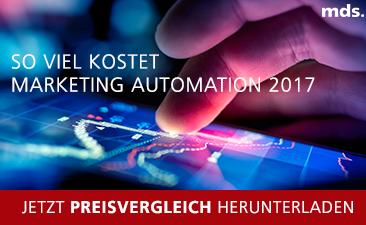 Jetzt Preisvergleich der Marketing Automation Tools 2017 herunterladen