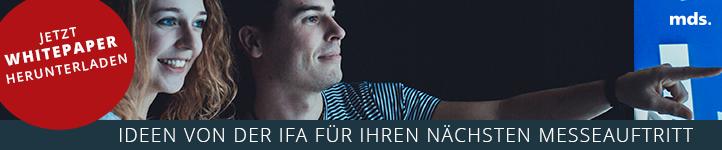 IFA Aussteller Whitepaper Messetechnik