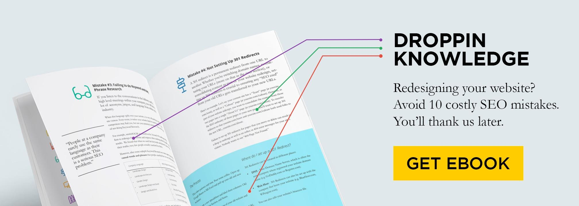Free eBook: 10 SEO Mistakes to Avoid When Relaunching Your Website