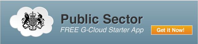 Public Sector - Free G-Cloud Starter App - Get it Now