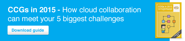 CCGs in 2015: How cloud collaboration can meet your 5 biggest challenges