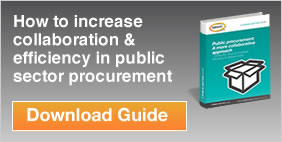 How to increase collaboration & efficiency in public sector procurement