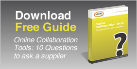 Online Collaboration Tools - 10 questions to ask a supplier. Download Free Guide