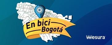 Mapa bicicleta Bogotá