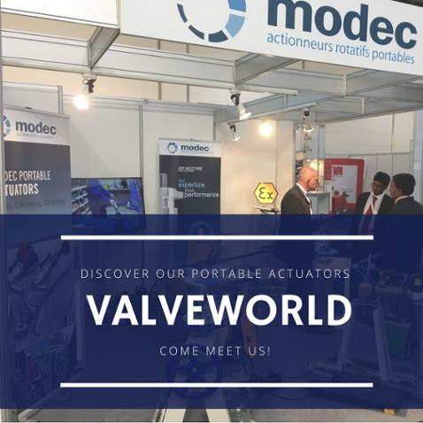Meet us at valveworld !