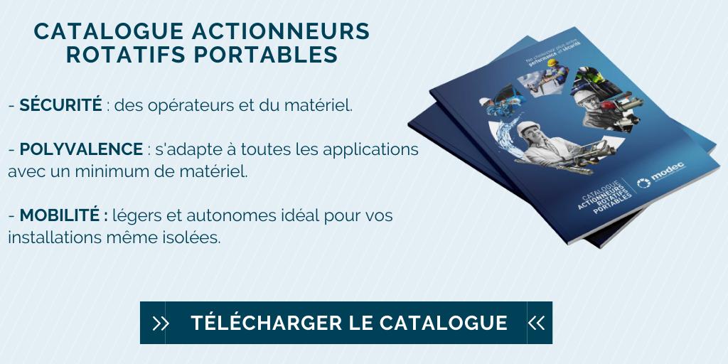 Téléchargez le catalogue des actionneurs rotatifs portables