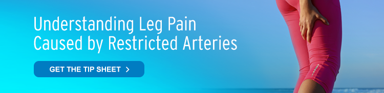 reduced leg pain