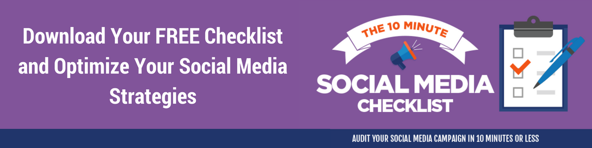 Download your free social media checklist