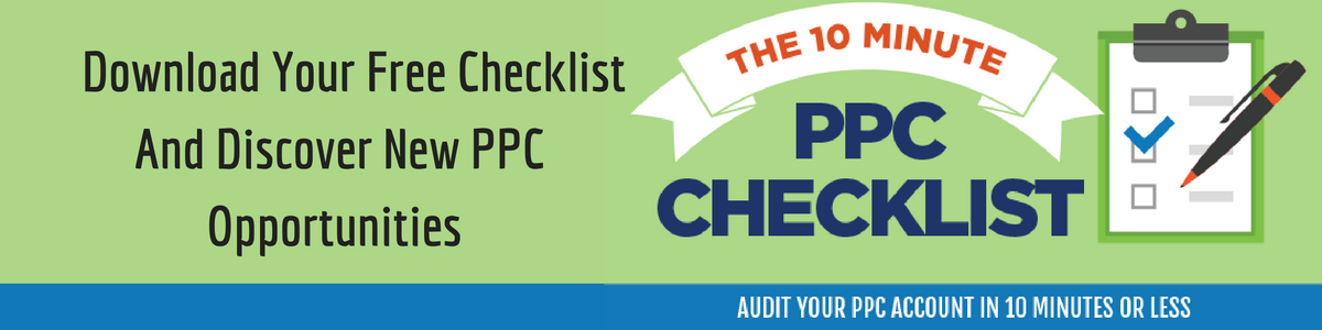 Download your free ppc checklist