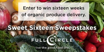 Enter now! Fill Your Pantry Sweepstakes. Enter to win 4 weeks of artisan groceries from Full Circle.