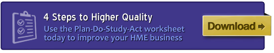 Improve your HME Business with the PDSA Worksheet