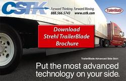 Strehl TrailerBlade Trailer Skirt Skirting for Tractor Trailers