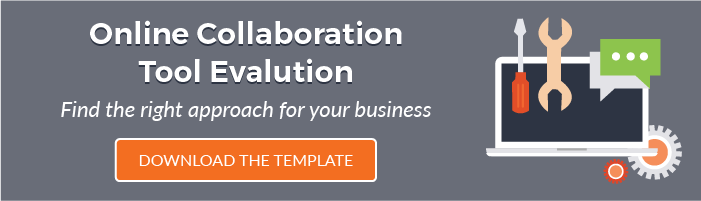 Online Collaboration Tool Evaluation