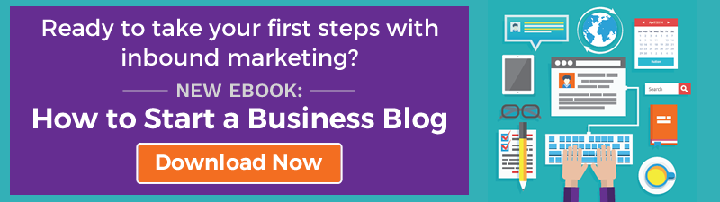 NEW EBOOK: How to Start a Business Blog