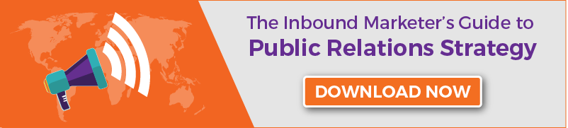 Free ebook: The Inbound Marketer's Guide to PR Strategy