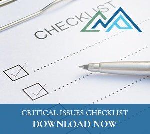 critical issues checklist