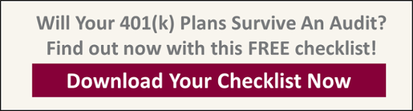 Download Our Free Checklist: Bulletproof Your Company 401(k) Plans!