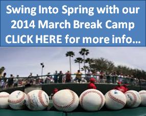 March Break Baseball Camp Toronto Mississauga