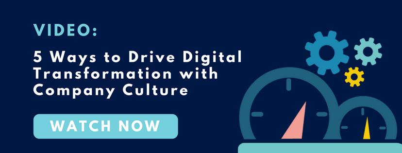 work culture digital transformation IT