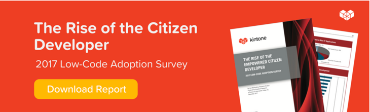 Citizen Developer CTA