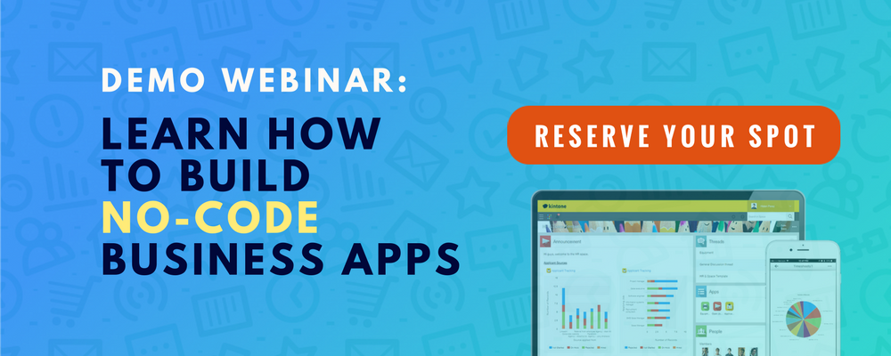 demo webinar business apps