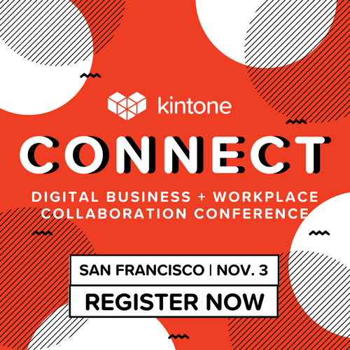 kintone connect digital transformation conference