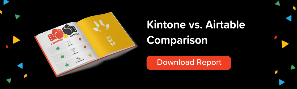Kintone vs Airtable Comparison