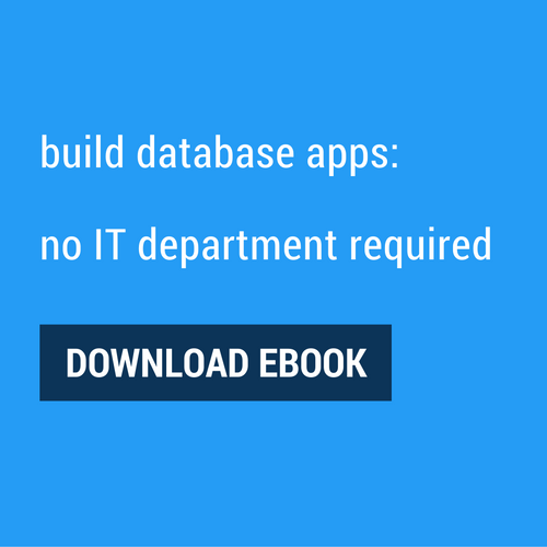 no code database apps