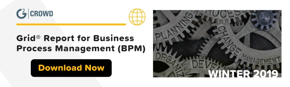 G2 Crowd Grid Report for Business Process Management (BPM)