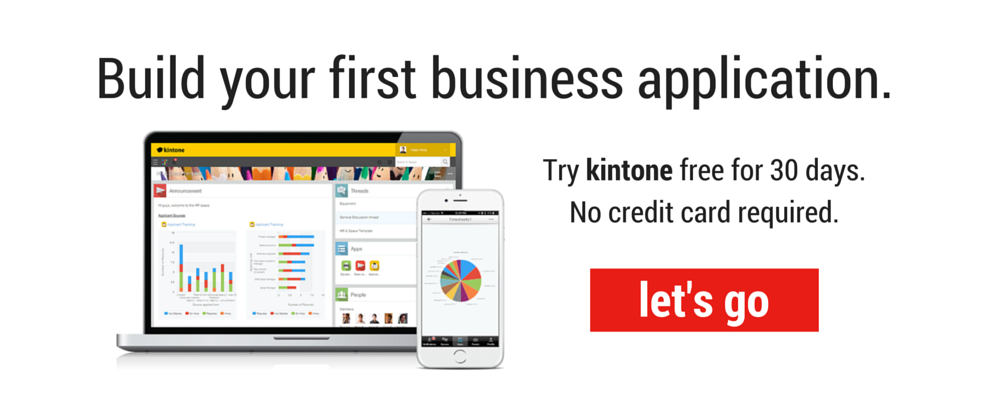 building business apps is easy.