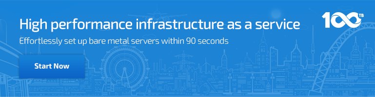 High performance infrastructure as a service