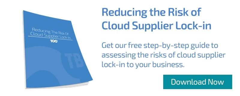 Free whitepaper: Reducing the risks of cloud supplier lock-in