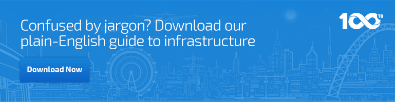 Confused by jargon? Download our plain-English guide to infrastructure