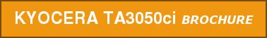 KYOCERA TA3050ci BROCHURE