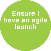 Ensure I have an agile launch